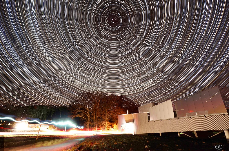 Sternwarte Schaffhausen mit Himmel