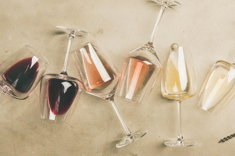 Regionale Weine lassen sich in den Gläsern bestaunen